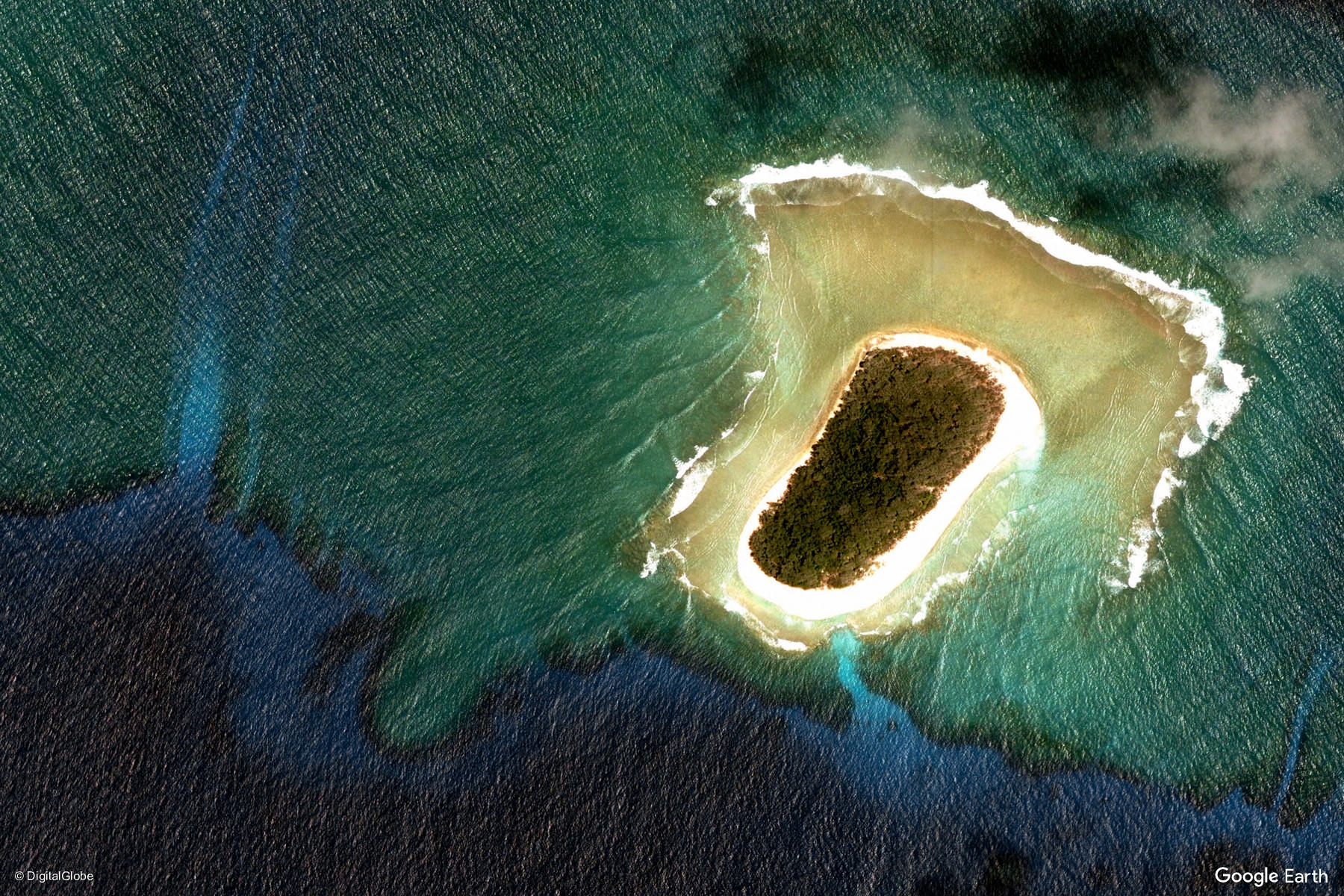 Kwajalein Atoll Marshall Islands Earth View From Google