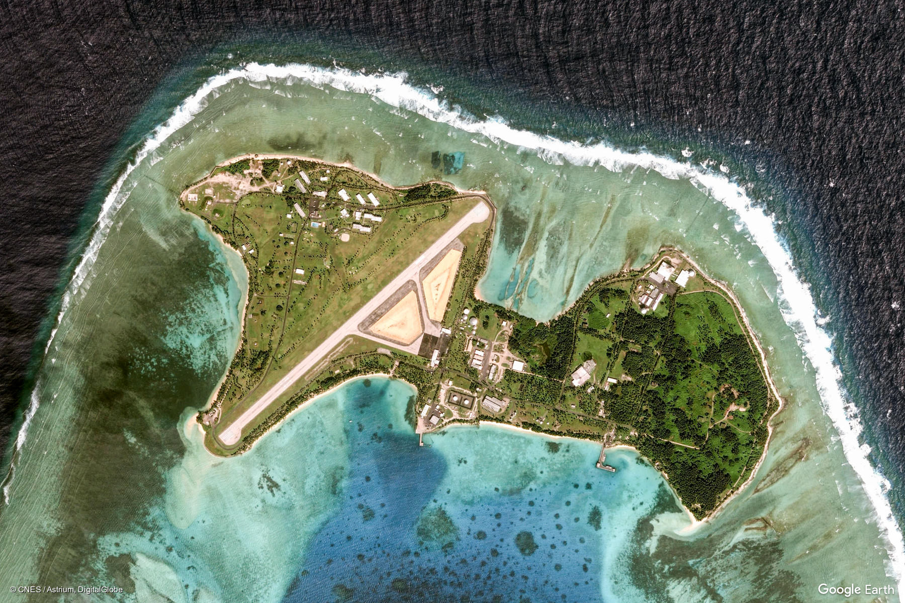 kwajalein atoll marshall islands � earth view from google