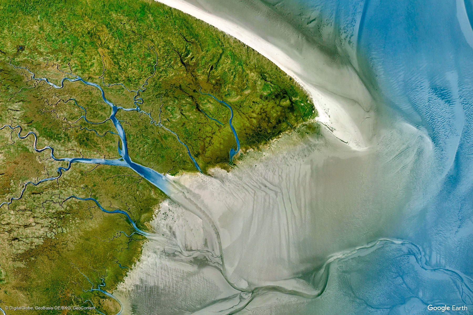 Wangerland Germany Earth View From Google - Google maps earth view
