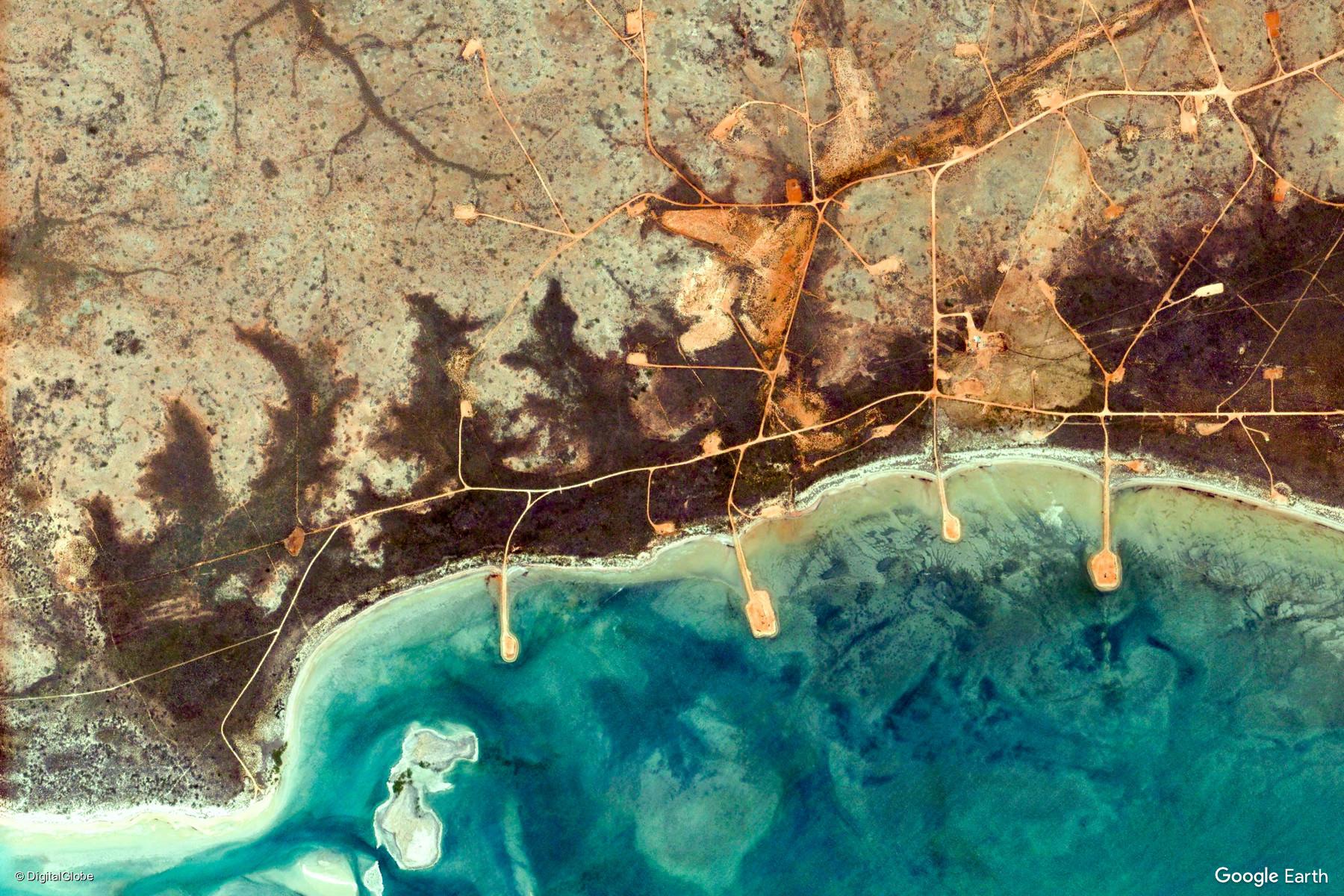 Western Australia, Australia – Earth View from Google