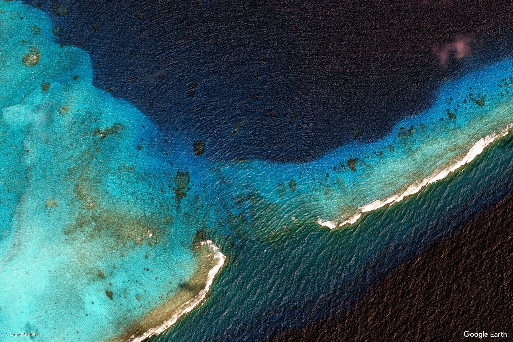 Marshall Islands Earth View From Google
