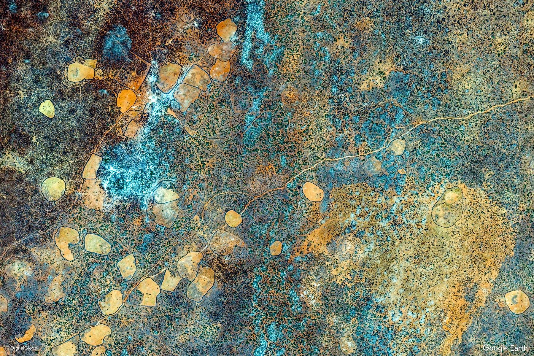 bulo burte somalia earth view from google